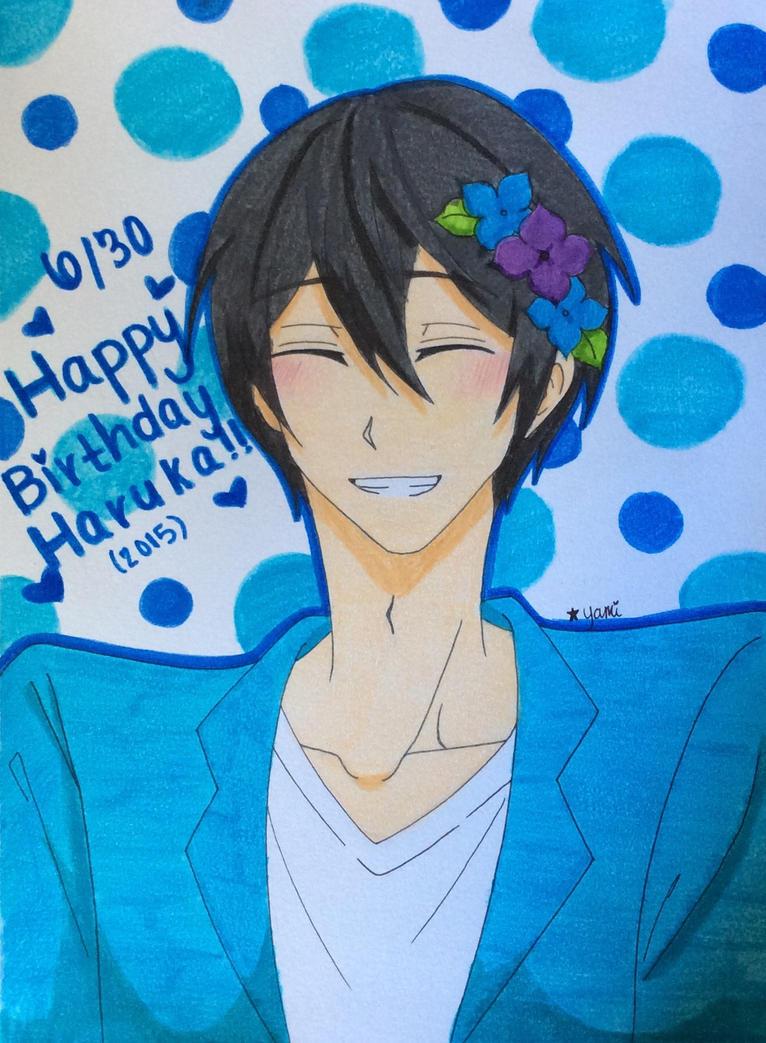 Happy Birthday Haruka!! by Yami-The-Orca