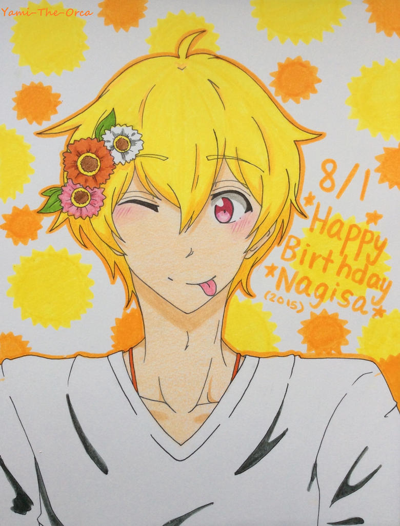 Happy Birthday Nagisa!! by Yami-The-Orca