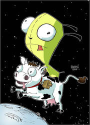 Gir and Space Cow