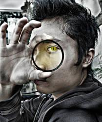 Snake eye everywhere!! by KompazForArt