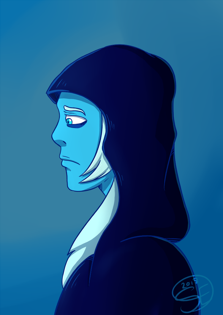 Blue Diamond from Stevev Universe Tumblr Ko-Fi