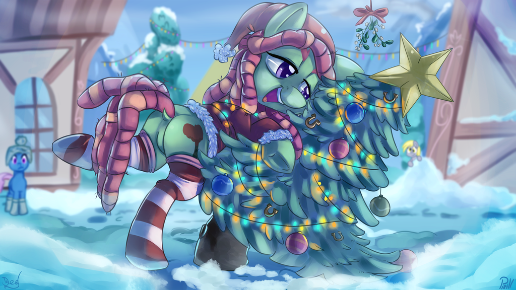 [Collab] Evergreen pun by thediscorded