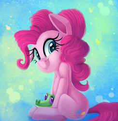Pinkie and the gator