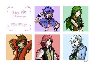TON: 1st Anniversary by midorishina