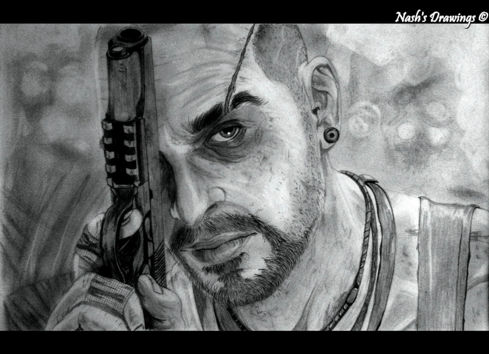 Vaas From Far Cry 3 by Nash-s-Drawings on DeviantArt