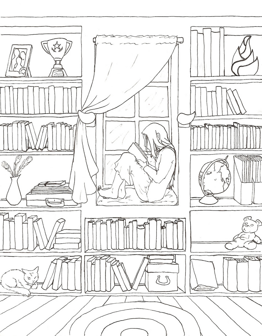 Solitude lineart by kayqy on deviantart for Design my room free