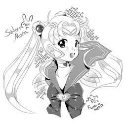 Sailor Moon Manga Work