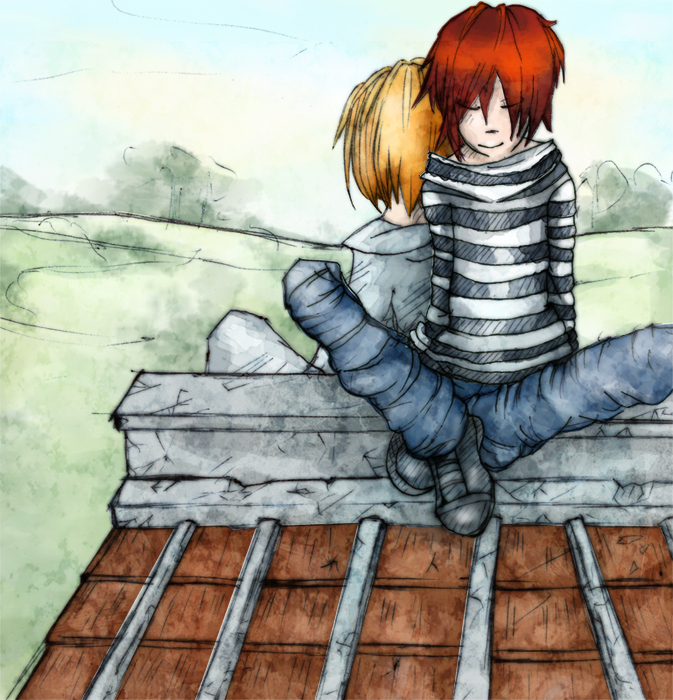 on the roof by Alex-zk