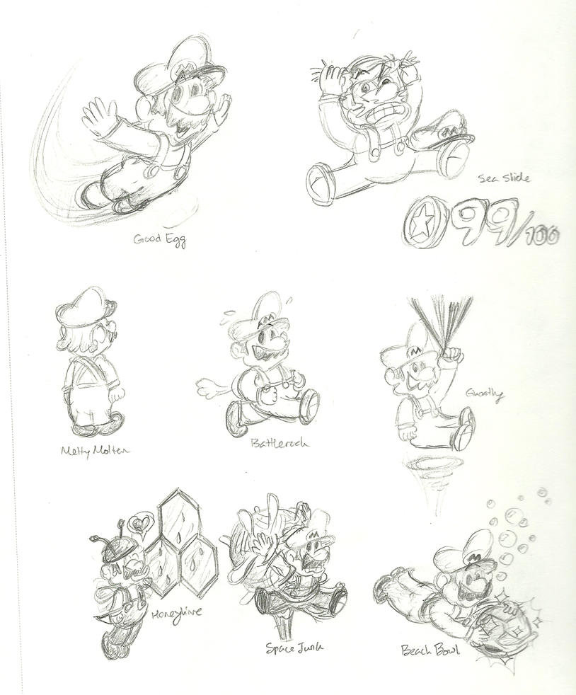 mario 64 coloring pages - photo#31