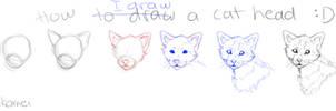Mini cat head 'tutorial'