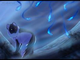 When night falls.. by Alukei