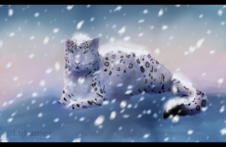 Snowfall by Alukei