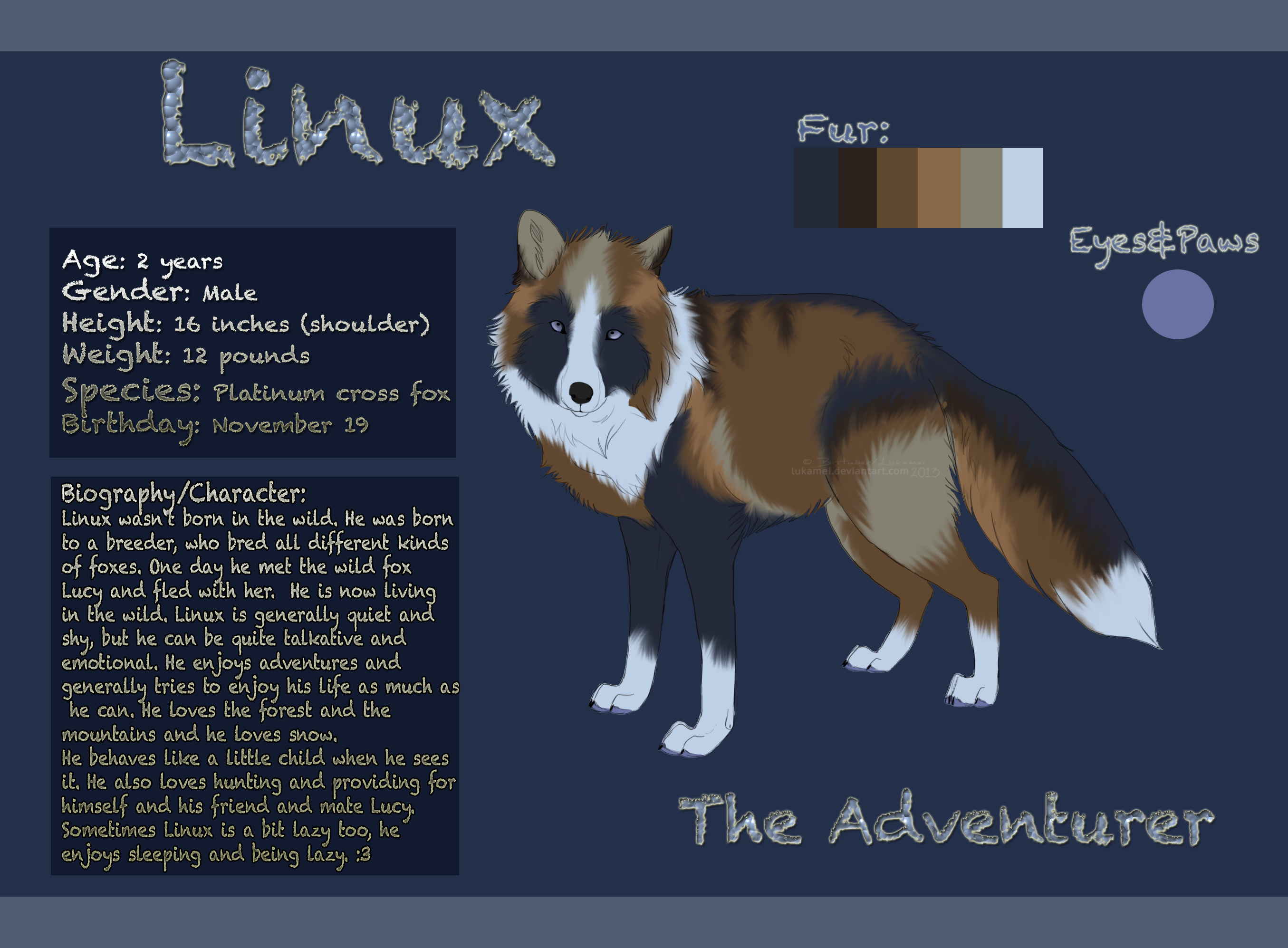 Linux Reference Sheet by Alukei