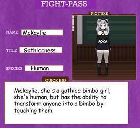 Fighting card 3