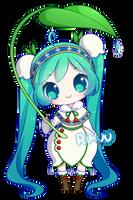 FREE Snow Miku 2015 Pagedoll