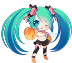 FREE Cheerful Miku Pagedoll by rimuu