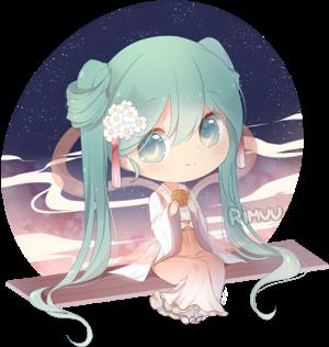 FREE Harvest Moon Miku Pagedoll