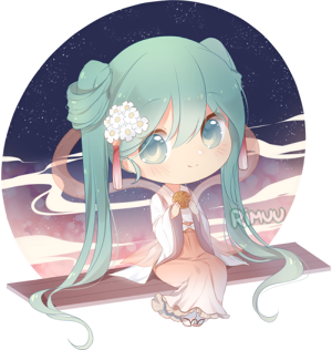 FREE Harvest Moon Miku Pagedoll by rimuu