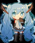 FREE Blue Star Miku Pagedoll