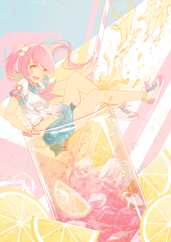 Pink lemonade by rimuu on deviantart pink lemonade by rimuu voltagebd Gallery