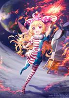 C :: Danmaku!! Clownpiece by rimuu