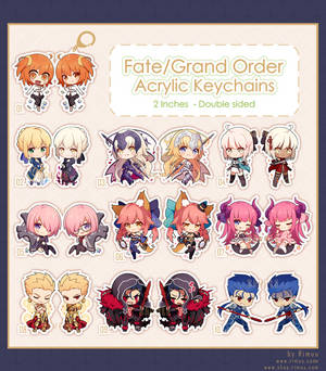 FGO Acrylic Keychains