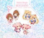 Maho Shojo Keychains