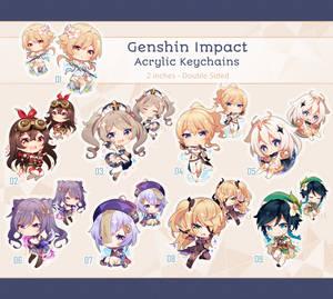 Genshin Impact Keychains