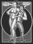 LEIA SLAVE and HAN SOLO 1