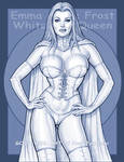 Emma Grace Frost White Queen 5