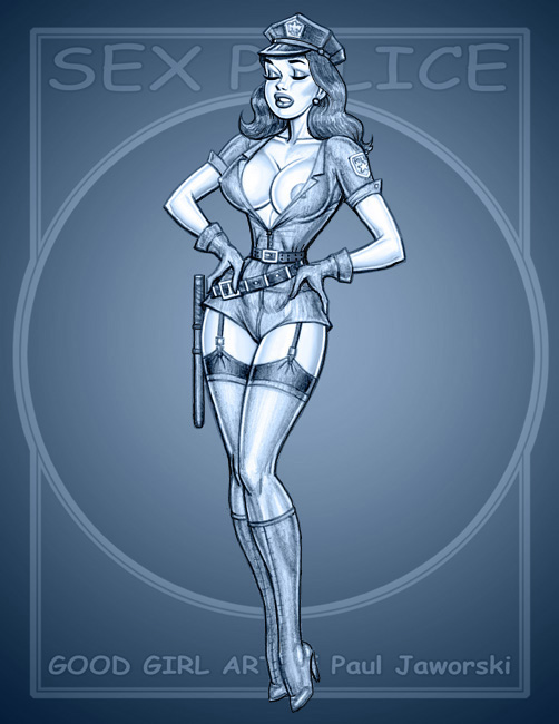 SEX POLICE 5 by GOODGIRLART