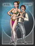 LEIA SLAVE and HAN SOLO 1 transition