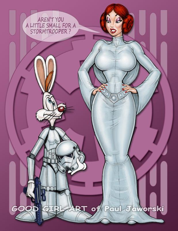 JESSICA RABBIT - Princess Leia 1 by GOODGIRLART