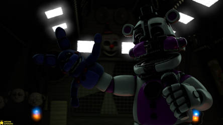 [SFM FNaF 4K] Time for a puppet show by AwesomeSuperSonic