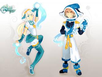 Kyroto and Gray by KuroYuki-SnowFlake