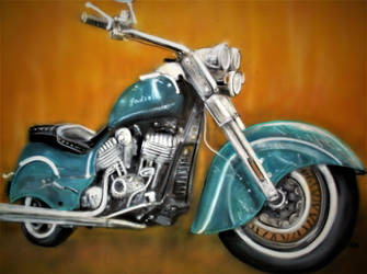 Airbrush 46 indian by Duttch