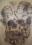 Skull Pyro`  (1) by dutchartt