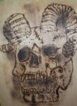 Skull Pyro`  (1) by Duttch