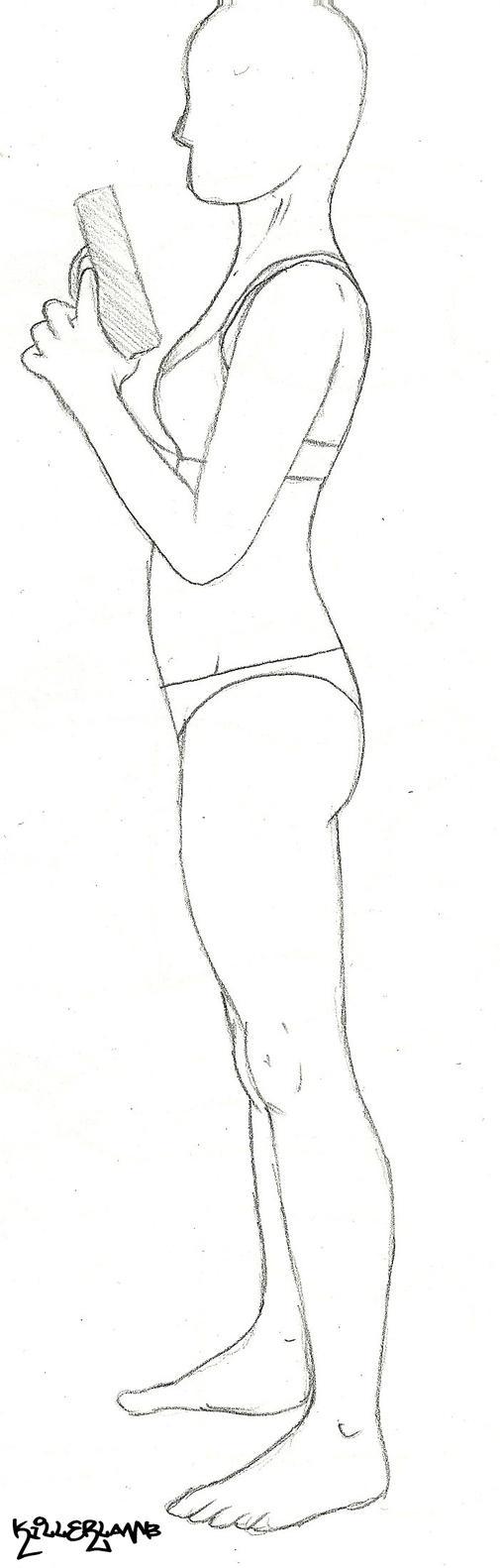 Female pose 8 by KILLER-LAMB