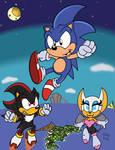 Sonic Adventure 2 AOSTH Edition