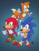 Adventures of Sonic Heroes