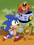 Sonic's Desert Duel