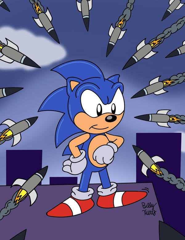Sonic Waiting Til The Last Second By Slysonic On Deviantart