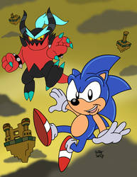 Sonic Lost World AOSTH Edition by SlySonic
