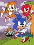 Sonic The Hedgehog Way Past Fast