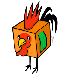 Cube Rooster
