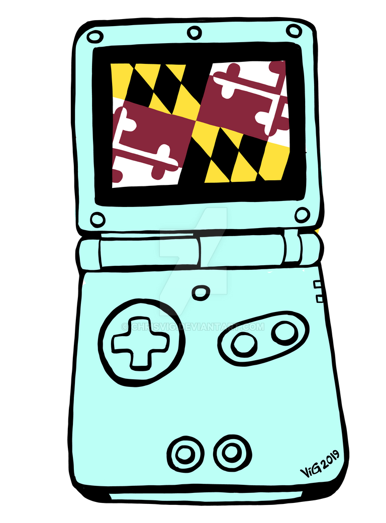 Nintendo Gaithersboy Advance SP by chrisvig