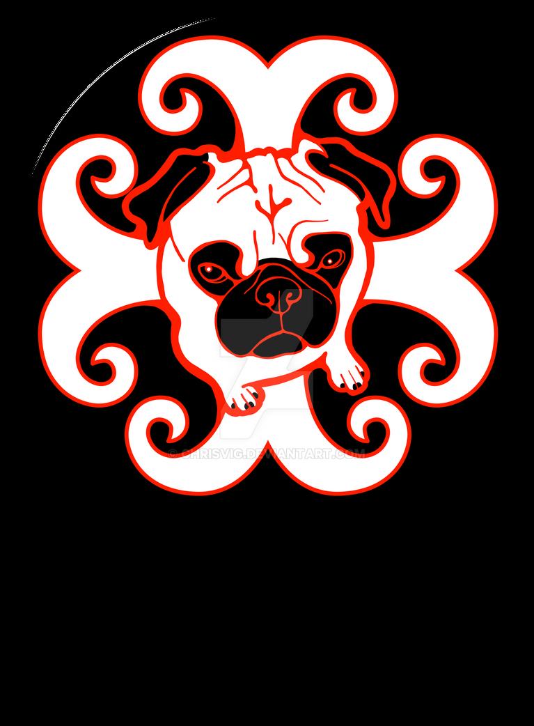 Sunshine Pug by chrisvig