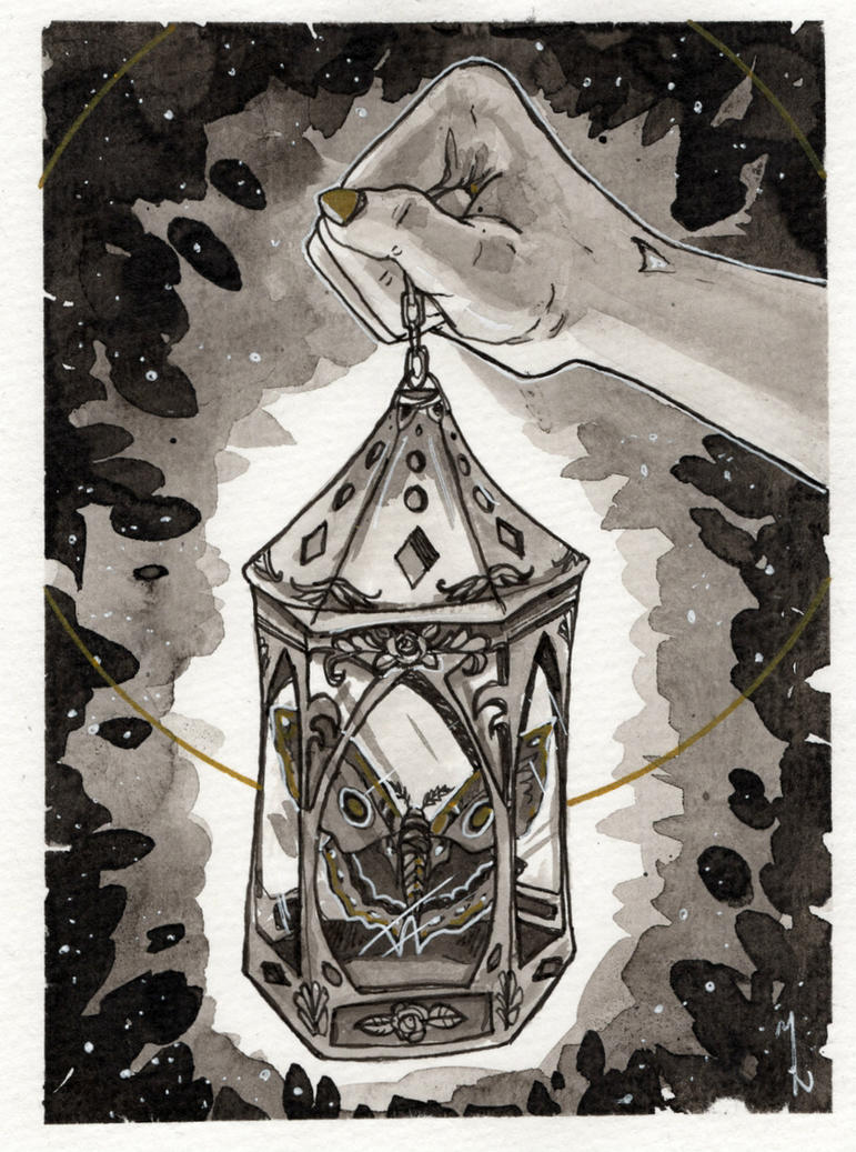 Lantern by MirriamElin