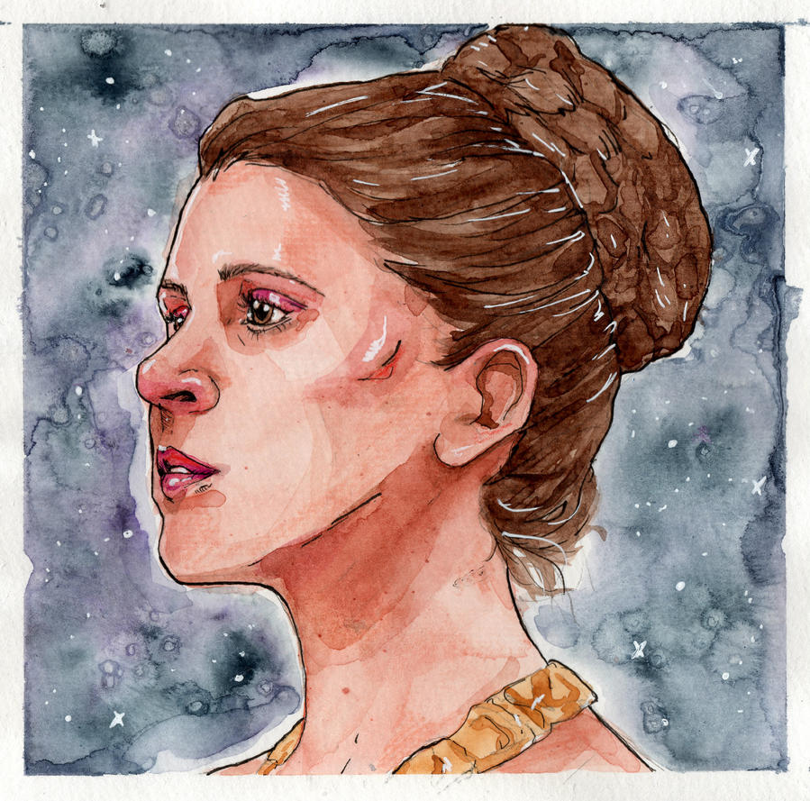 Space Princess by MirriamElin